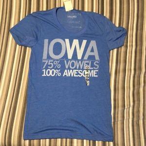 57c148893 RAYGUN Shirts & Tops | Iowa Tshirt Nwt Sz M | Poshmark